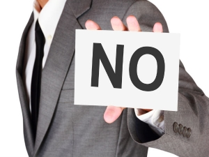 Things To Say No To In 2016