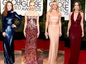Golden Globes 2016 Twinkling Outfits Rule The Award Ceremony