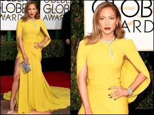 Jennifer Lopez Golden Globes Gown