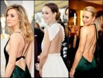 Backless Gowns Rule The Red Carpet At 2016 Oscars