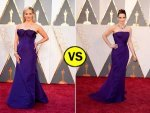 Tina Fey Reese Witherspoon Purple Dresses