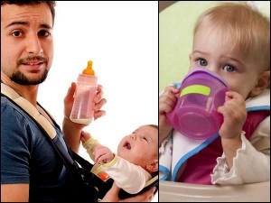 Is Feeding Bottle Better Or Sipper For Babies