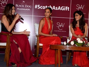 Lisa Haydon At Diageo Scotch Whiskey Collection With Other Stars