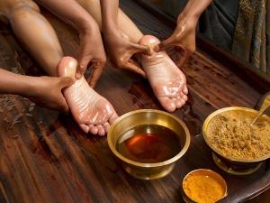 Treating Cracked Heels With Ayurveda