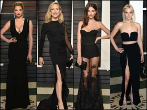 Best Black Dresses From The Oscar Party That You Must Not Miss