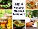 Diy Five Natural Makeup Removers