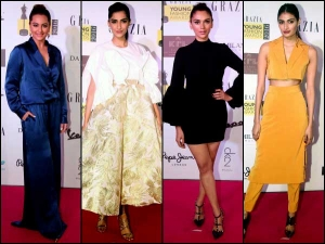 Grazia Young Fashion Awards Seven Best Dressed Celebrities Have A Look