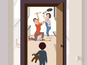 What Happens To Children When Parents Fight