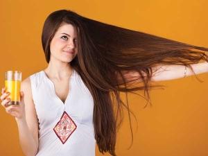 Ten Juices That Help You Get Longer Hair