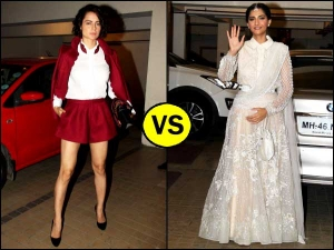 Kangana Ranaut Or Sonam Kapoor Whose Outfit Was Better Check It Out