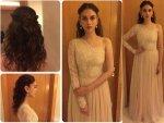 Aditi Rao Hydari Looking Like A Princess In Hema The Label Dress