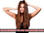 Try These Home Remedies For Dry And Damaged Hair
