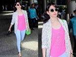 Tamil Actress Tamannaah Bhatia Airport Look Is Cool And Comfy