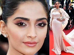 Sonam Kapoor Cannes 2016 Makeup Insync With Outfits