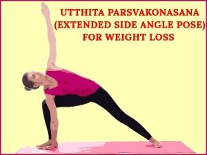 Utthita Parsvakonasana Extended Side Angle Pose For Weight Loss