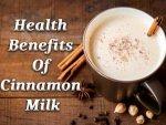 Health Benefits Of Drinking Cinnamon Milk