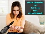 Home Remedies For Hair Loss That Actually Work