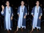Kangana Ranaut Fashion Spotted At Anand L Rai Birthday Bash