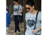 Kareena Kapoor Fashion Dressed In Laid Back Casuals