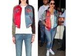 Priyanka Chopra Fashion Pc Returns From Madrid Wearing Classy Jacket