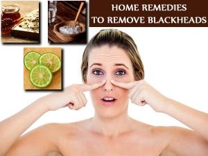 Amazing Home Remedies To Remove Blackheads