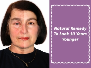 Amazing Home Remedy To Look Five Years Younger