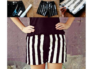 How To Use Old Shorts And Turn Them Into New