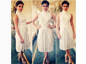 Samantha Ruth Prabhu Dresses In A White Shriya Som Outfit