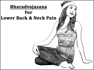 Bharadvajasana Bharadvajas Twist For Lower Back And Neck Pain