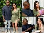 Kim Kardashian Kanye West At Knbc Beauty Launch Party Dress