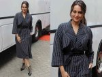 Sonakshi Sinha Gives Us New Reason To Wear Stripes With Akira Promos