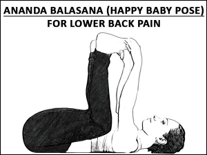 Ananda Balasana Happy Baby Pose For Lower Back Pain