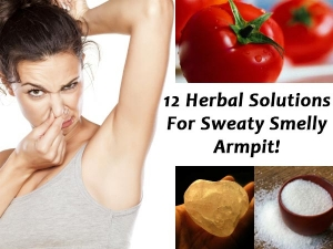Twelve Herbal Solutions For Sweaty Smelly Armpits