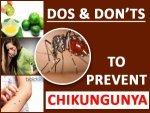 Chikungunya Do S Dont S To Prevent Chikungunya