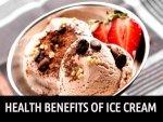 Health Benefits Of Ice Cream