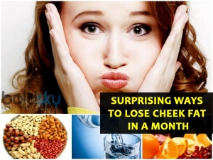 Surprising Ways To Lose Cheek Fat In A Month