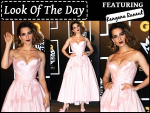 Look Of Day Kangana Ranaut For Gq Men Of The Year