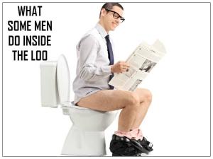 What Men Do In Bathroom