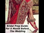 Bridal Prep Guide A Month Before The Wedding