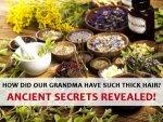 Ancient Hair Growth Secrets Revealed