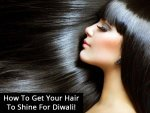 How To Get Your Hair To Shine For Diwali