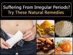 Natural Remedies For Irregualr Periods