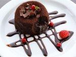 Chocolate Chipc Cake For Diwali