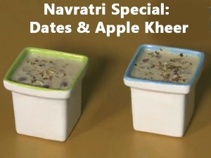 Dates And Apple Kheer Recipe For Durga Puja Video