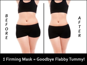 You Wont Believe How This Firming Mask Work On Saggy Stomach