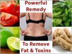 Powerful Remedy To Remove Fat And Toxins From Body