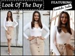 Look Of The Day Sonakshi Sinha For Force 2 Promotions
