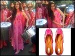 Shraddha Kapoor Wearing Vanshika Ahuja Juttis