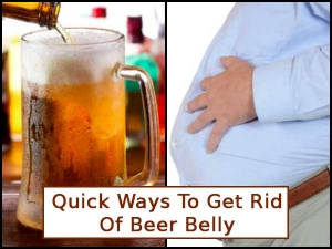 Quick Ways To Get Rid Of Beer Belly