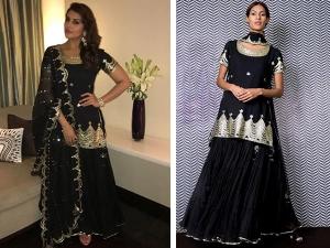 Huma Qureshi Looks Divine This Black Apparel